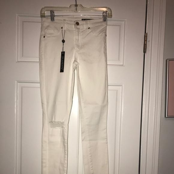 Blank NYC Denim - Blank NYC white skinny jeans size 25